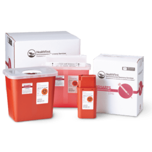 Sharps medical waste management