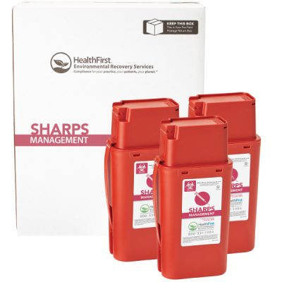 Healthfirst sharps containers
